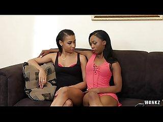 Ebony lesbians jazzy jamison and sarah banks