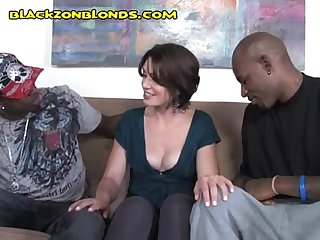 Brunette wants two blacks