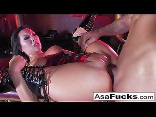 Sophia santi eats asa Akira S creampied cunt