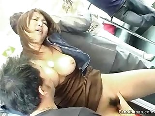 Variants.... Many Busty asian fucked on train