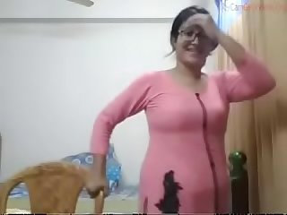 Desi Bhabhi Julia stripping
