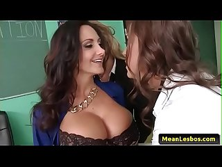Hot and mean lesbians ava and the slutty schoolgirls with abigail mac ava addams ryan