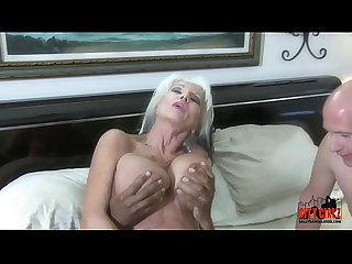 Mean BITCH HOTWIFE fucks BBC in front of her injured CUCK husband Sally D'angelo