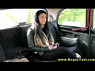 Real eurosex babe sucks taxi drivers nob