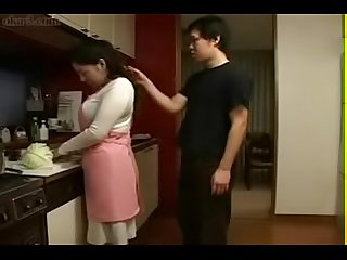Japanese mother an son in kitchen fun watch part2 on porn4us org