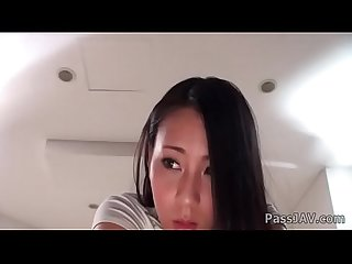 Toys making ren azumi moan softly in lovely tones