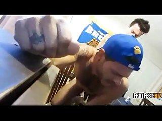Frat fest fucked gay