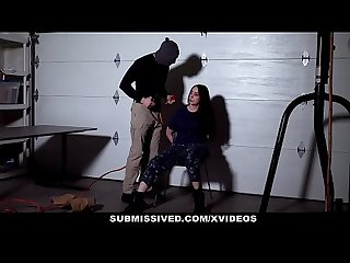 Submissived hot military brat fucked hardcore