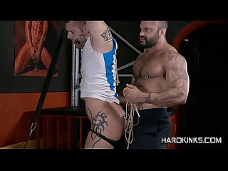 2muscle guys leather