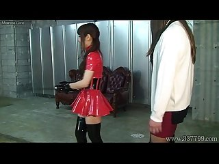 Japanese Mistress Emiru Femdom Two Male Slaves