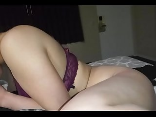Sexy wife in las vegas hotel pov