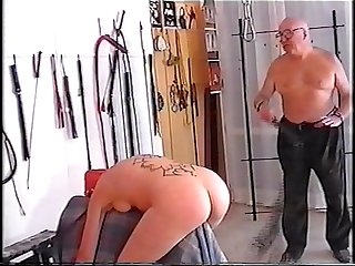 2 old men training young slave girl part 1 vob