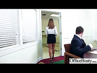 (Layla London) Girl With Round Big Tits In Hard Style Sex In Office clip-14