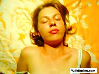 Russian wife many facials