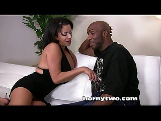 Beautiful shaved black pussy sucking fucking riding big black dick till cumshot
