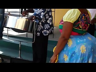 Big booty ghanian woman dancing