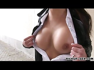 Victoria sweet shows off her Big tits