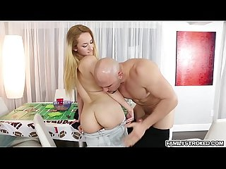 Sweet chick Gigi Flamez fucking large massive dick