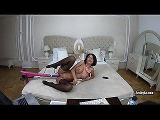 Fucking machine VS Anisyia