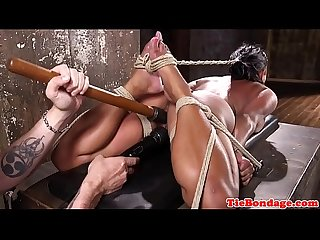 Squirting sub gets disciplined with sextoys