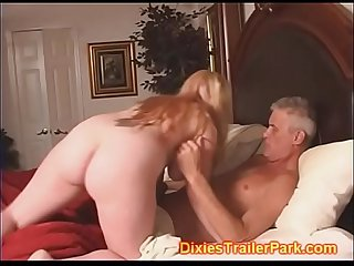 Daddy eats BabySitters CREAM PIE