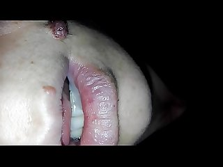 cumshot in my sleeping sisters mouth