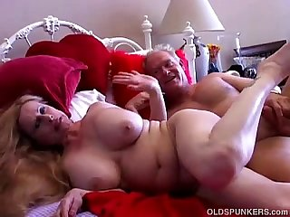 Busty old big booty broad is a super hot fuck