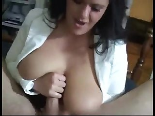 Great cumshot compilation (mostly on tits)