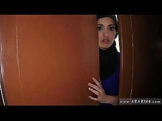 Small arab girl 21 yr old refugee in my hotel room for sex