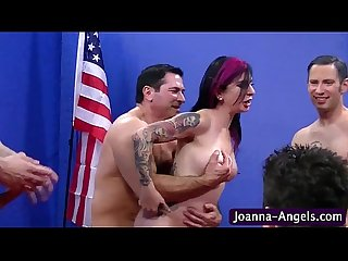 Joanna angel spitroast and dp