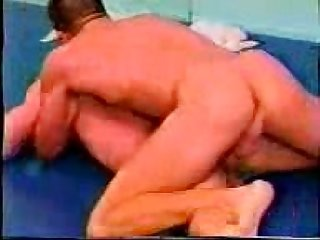 Classic male rip n strip wrestling scene 2 of 2