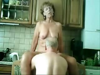 Stolen video of my gorgeous mom having fun with dad