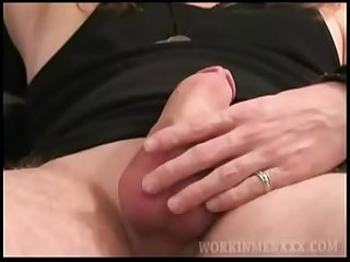 Amateur Mojo Jacking Off