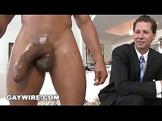 GAYWIRE - Wade Huntter Gets His White Ass Stuffed With Castro's Big Black Dick
