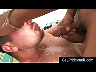 Cute latin guy gets rimmed and fucked 7 by GayPrideVault