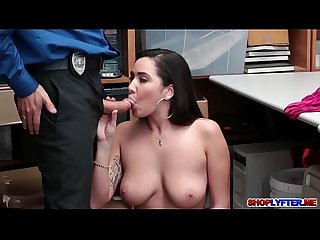 Lp officer bangs this sexy thief karlee grey