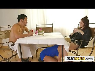 Lucky joe fucks his gf hailey little his dad S girlfriend sara st clair