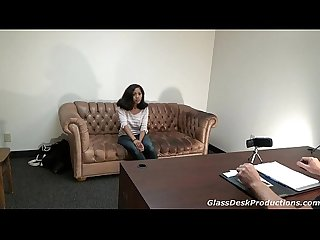 American Marine and Tiny Asian casting Naomi couch GlassDeskProductions