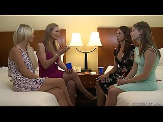 Tanya Tate and a newbie lesbian Alice March - Girlfriends Films