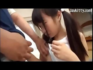 Sucking japanese girl