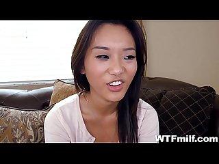 Alina li alyssa lynn hardcore threesome