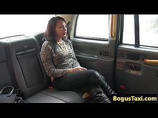 Black reality teen fucking old taxi driver