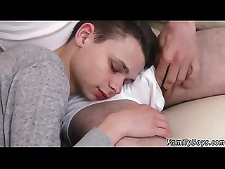 Creampie teen male gay boy ass movie Sleepy Movie Night