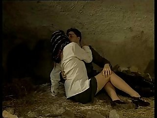 Italian porn vintage sex in a Cave with a sexy country girl