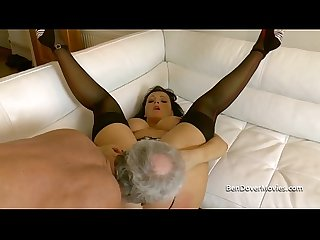 Dirty english milf anal asslicking and gagging