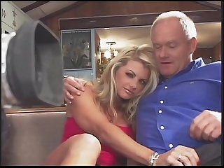 Amazing vicky vette fucks 4 guys plus one Old guy excl