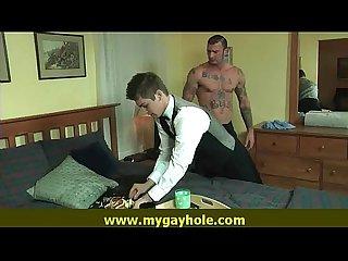 Muscular Bear straight client 22