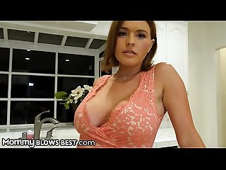 MommyBlowsBest Krissy Lynn Sucks &Titfucks Gamer Step-Son