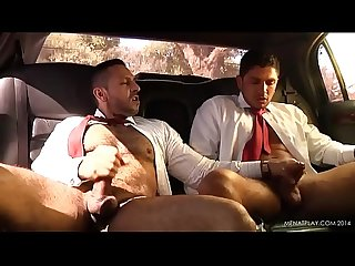 WRISTWATCH Fetish - Two Gays Fuck in a Car