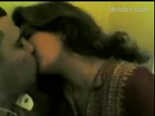 Indian punjabi woman kisses and gives blowjob